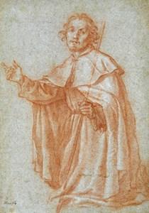 A Kneeling Saint