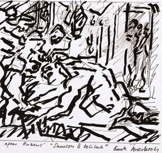 Study after Rubens' Samson and Delilah