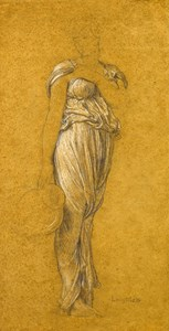 Drapery Study for Captive Andromache
