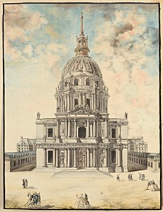 The Church of the Invalides, Paris