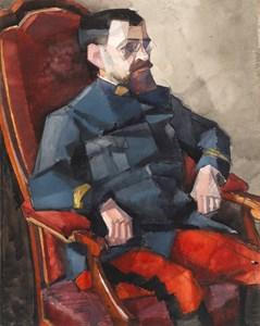 Portrait of Major Mayer-Simon Lambert