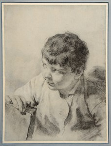 The Artist's Son Giacomo Holding a Book