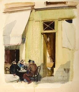 The Cafe, Honfleur