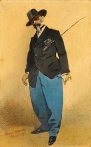 Portrait of the Actor Edmond Delannoy