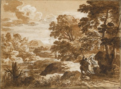 Landscape with Balaam and the Angel