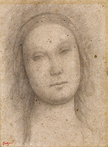 The Head of the Virgin, after Perugino