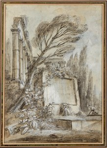 Design for the Frontispiece for the 'Divers habillements suivant le costume d'Italie' of 1768