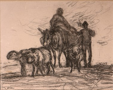 The Return from the Fields (The Evening Star)