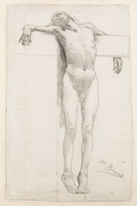 Study of a Crucified Thief