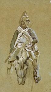 A Mounted Dragoon