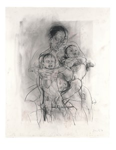 Mother and Children (After the Leonardo Cartoon)