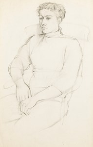 Portrait of a Seated Youth (Eric Verrico)