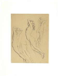 Four Studies of a Female Nude