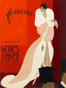 Design for the Cover of Femina magazine