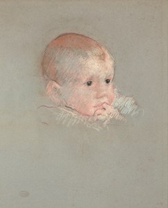 The Head of a Baby with its Finger in its Mouth (Portrait of George Fiske Hammond)