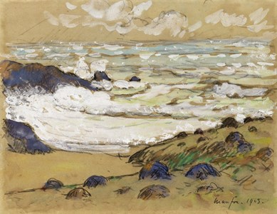 Coastal Landscape in Brittany