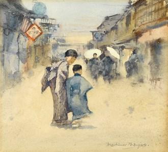 Street Scene in Japan