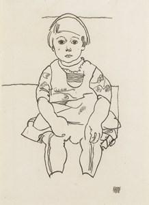Portrait of a Child (Anton Peschka, Jr.)