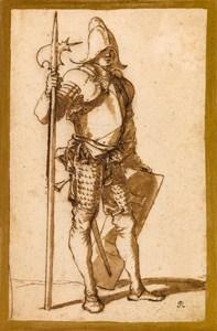 A Standing Halberdier