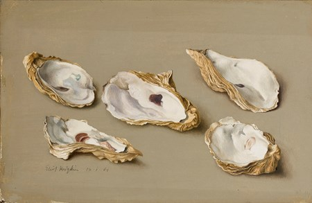 Five Oyster Shells