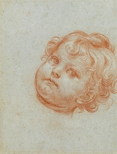 The Head of a Young Boy [recto]; The Penitent Saint Peter [verso]