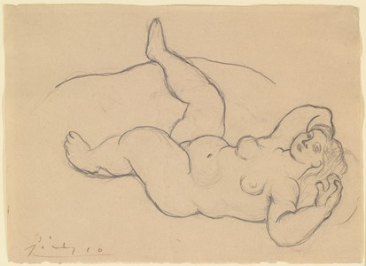 Reclining Female Nude (Nu couché)
