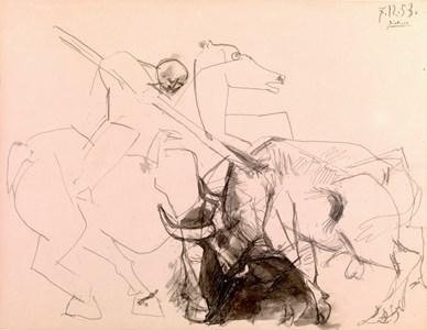 The Picador (Le cheval de picador cabré)