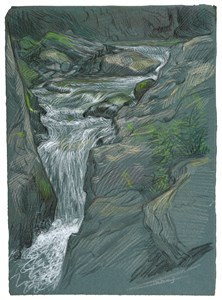 Vermont Waterfall No.1