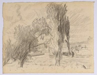 Landscape on the Seine near Vernon