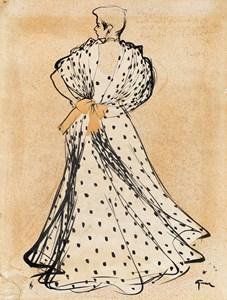 Woman in a Lanvin Dress