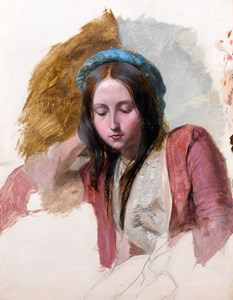 Study of a Young Woman in Eastern Costume