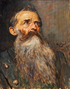 Study of the Head of a Bavarian Man