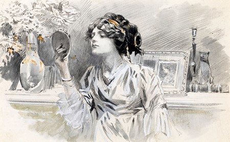 A Woman at her Dressing Table