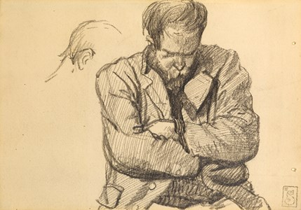 Study of a Man with Folded Arms