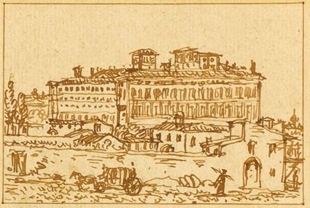 The Palazzo Barberini, Rome