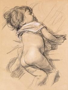 The Artist's Daughter Giuseppina Asleep