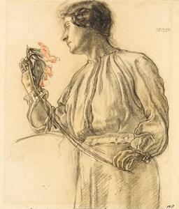 Portrait of Gertrude Schulman
