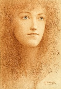 Étude Anglaise (Portrait of a Young Woman, Probably Elsie Maquet)